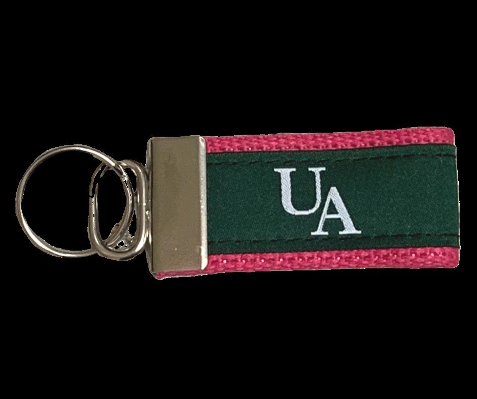 Image: Ursuline Keychain by Cape Cod Belt Company