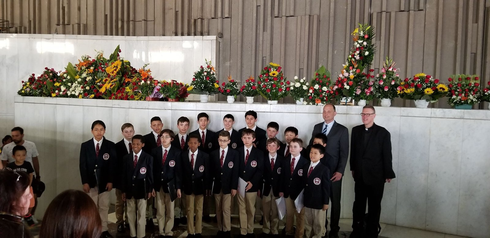 Image: Boy Choristers of Saint Paul's at the Basilica of Our Lady of Guadalupe