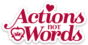 "Image: ""Actions Not Words"" Mayfield motto magnet"