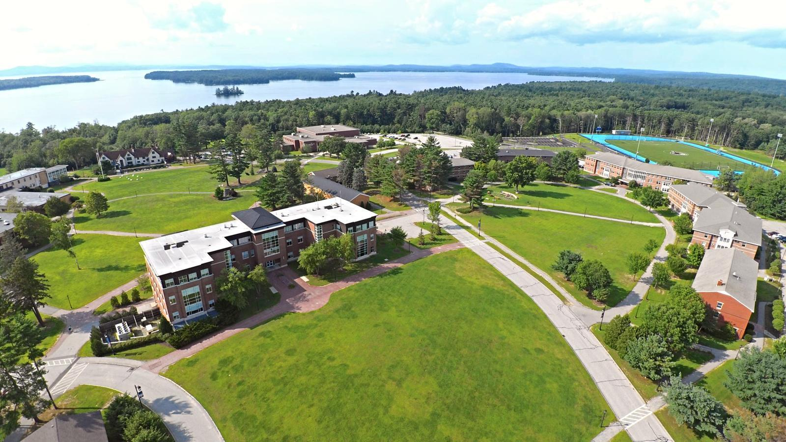 Image: Saint Joseph's College's campus on the water