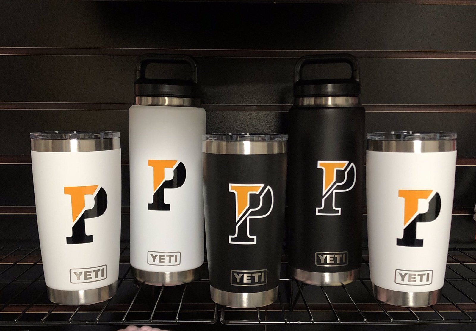 Image: Water bottles from Padua Academy